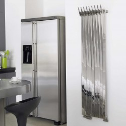 AEON Radiators - Clipper Brushed & Polished Stainless Steel Radiators