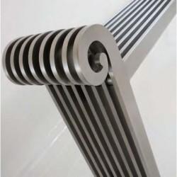 AEON Radiators - Grandeur Brushed Stainless Steel Radiators