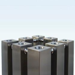 AEON Radiators - Alien Brushed Stainless Steel Radiators