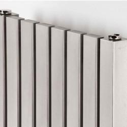 AEON Radiators - Arat Wall Mounted Brushed Stainless Steel Radiators