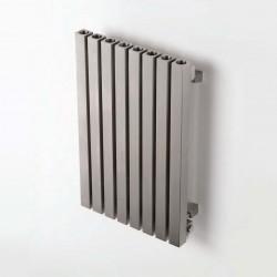 AEON Radiators - Dalya Wall Mounted Brushed Stainless Steel Radiators