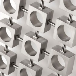 AEON Radiators - Lokum Brushed Stainless Steel Radiators