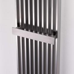 AEON Radiators - Venetian Brushed Stainless Steel Radiators