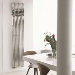 AEON Radiators - Twister 180° Brushed & Polished Stainless Steel Radiators