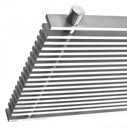 AEON Radiators - Pegasus Brushed Stainless Steel Radiators