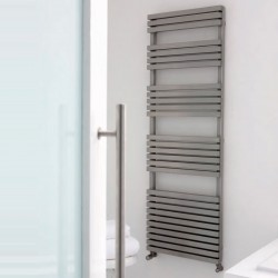 AEON Radiators - Atilla Brushed Stainless Steel Towel Rails