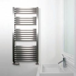 AEON Radiators - Serif Brushed Stainless Steel Towel Rails