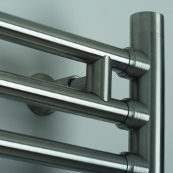 AEON Radiators - Seren Brushed Stainless Steel Towel Rails
