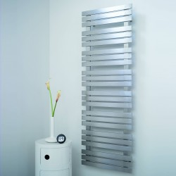 AEON Radiators - Kaptan Brushed Stainless Steel Towel Rails