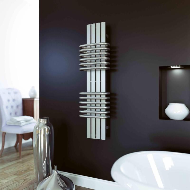 AEON Radiators - Bolero Brushed Stainless Steel Towel Rails