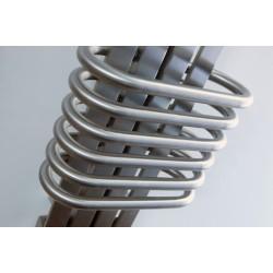 AEON Radiators - Bolero Brushed Stainless Steel Towel Rails - Closeup