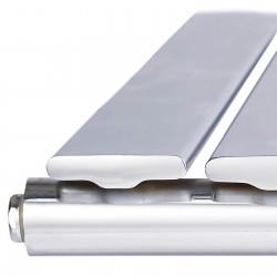 Sultan Chrome Designer Radiator - 1364 x 600mm