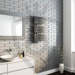 Arabella Anthracite Designer Towel Rail - 500 x 800mm