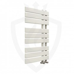 Arabella Latte Designer Towel Rail - 500 x 800mm