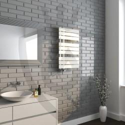 Arabella Latte Designer Towel Rail - 500 x 800mm