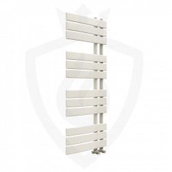 Arabella Latte Designer Towel Rail - 500 x 1200mm