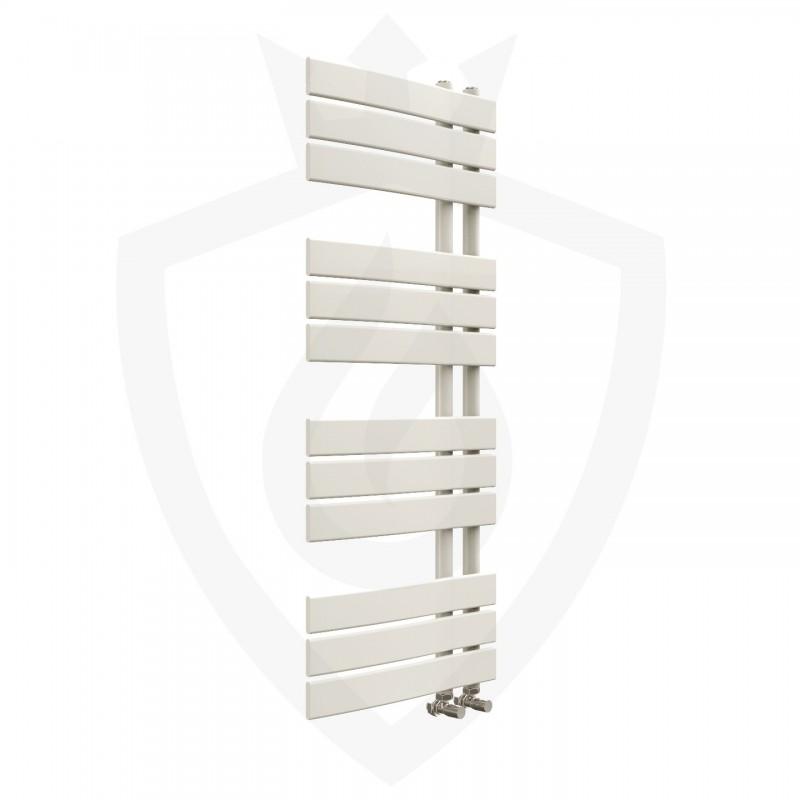 Arabella Latte Designer Towel Rail - 500 x 1200mm