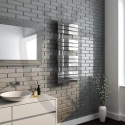Arabella Chrome Designer Towel Rail - 500 x 1200mm