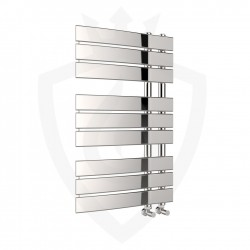 Arabella Chrome Designer Towel Rail - 500 x 800mm