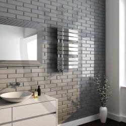 Arabella Chrome Designer Towel Rail - 500 x 800mm