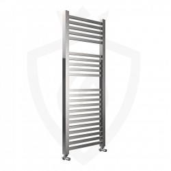 Crown Chrome Designer Towel Rail - 500 x 1200mm