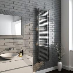 Crown Chrome Designer Towel Rail - 500 x 1800mm
