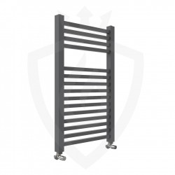 Crown Anthracite Designer Towel Rail - 500 x 800mm