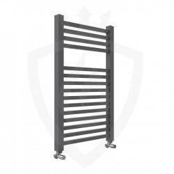 Crown Anthracite Designer Towel Rail - 500 x 800mm