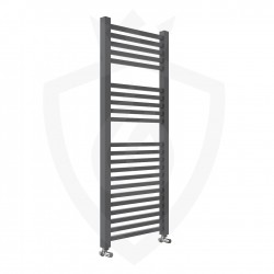 Crown Anthracite Designer Towel Rail - 500 x 1200mm