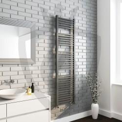 Crown Anthracite Designer Towel Rail - 500 x 1800mm