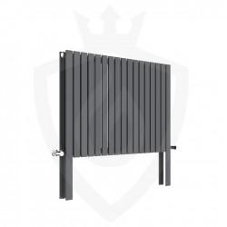 Axim Anthracite Designer Radiator - 820 x 800mm