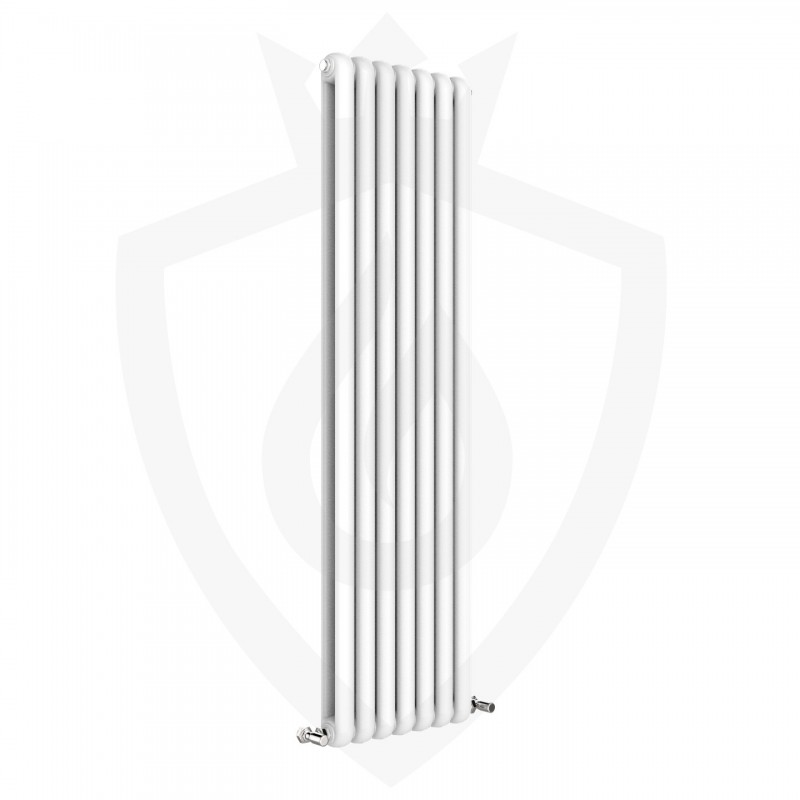 Imperial White Designer Radiator - 437 x 1800mm
