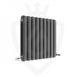 Imperial Anthracite Designer Radiator - 556 x 600mm