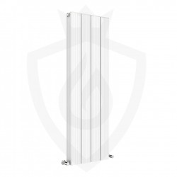 Sovereign White Double Aluminium Radiator - 375 x 1200mm