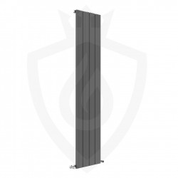 Sovereign Anthracite Aluminium Radiator - 375 x 1800mm