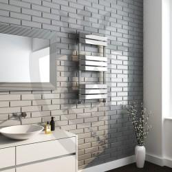 Roma Chrome Designer Towel Rail - 500 x 950mm