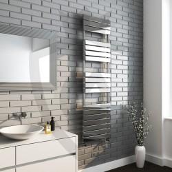 Roma Chrome Designer Towel Rail - 500 x 1800mm
