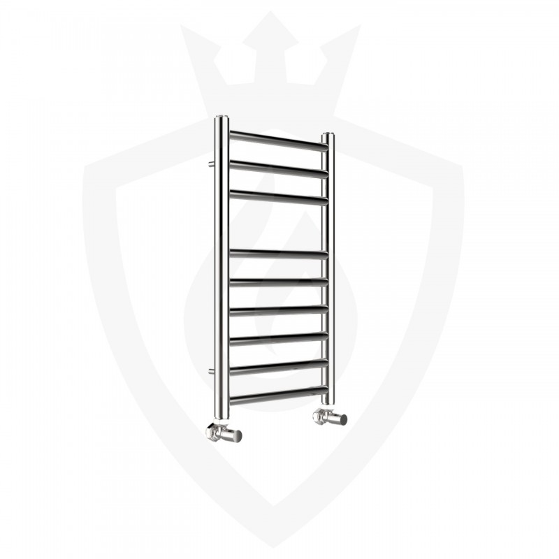 Phoenix Athena Polished Stainless Steel Towel Rail - 350 x 600mm