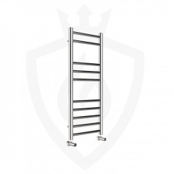 Polished Stainless Steel Towel Rail - 350 x 800mm