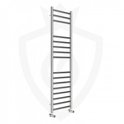 Polished Stainless Steel Towel Rail - 350 x 1200mm