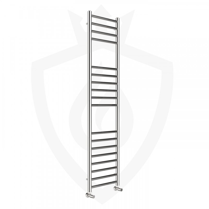 Polished Stainless Steel Towel Rail - 350 x 1400mm