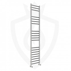 Polished Stainless Steel Towel Rail - 350 x 1600mm