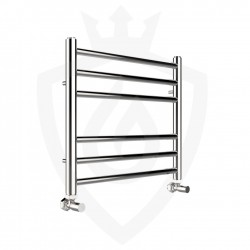 Polished Stainless Steel Towel Rail - 500 x 430mm