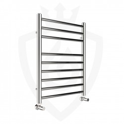 Polished Stainless Steel Towel Rail - 500 x 600mm