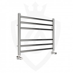 Polished Stainless Steel Towel Rail - 600 x 430mm