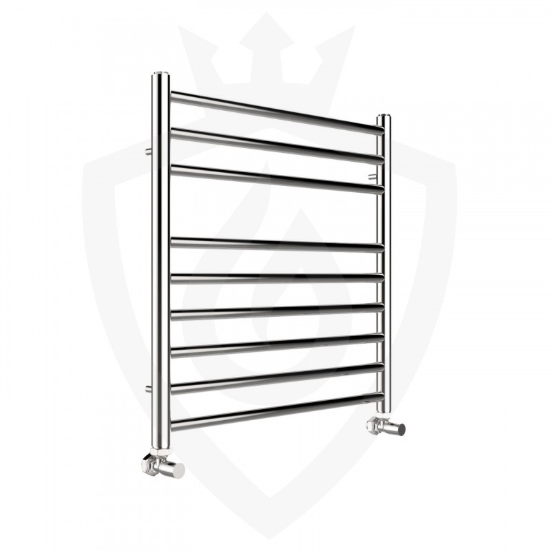 Polished Stainless Steel Towel Rail - 600 x 600mm