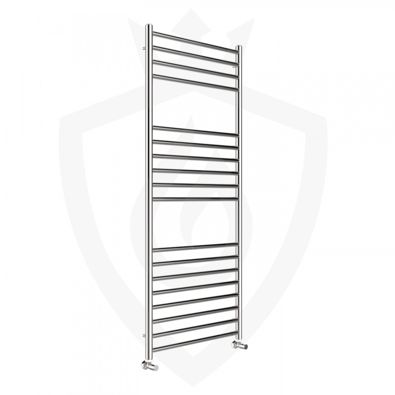 Polished Stainless Steel Towel Rail - 600 x 1400mm