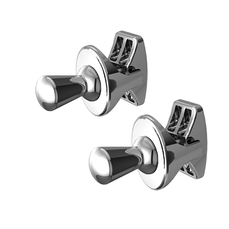 Chrome Robe Hook - I Design