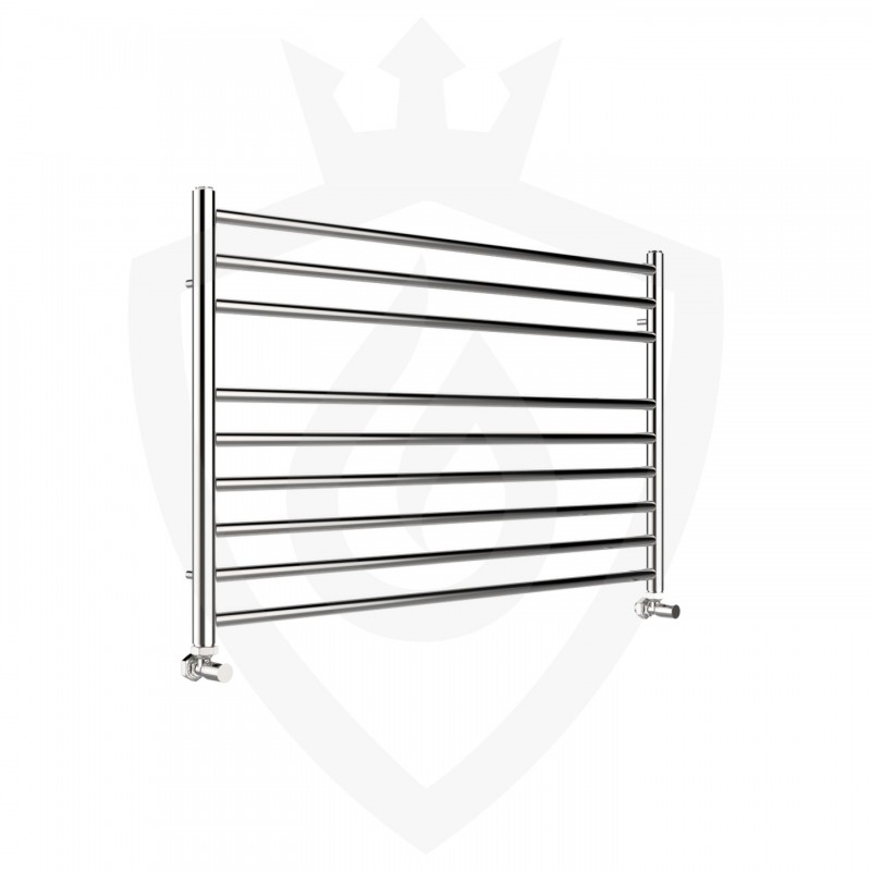 Polished Stainless Steel Towel Rail - 1000 x 600mm
