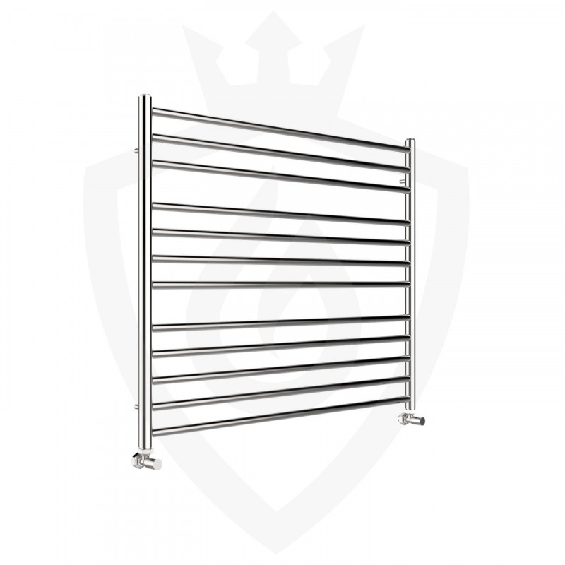 Polished Stainless Steel Towel Rail - 1000 x 800mm